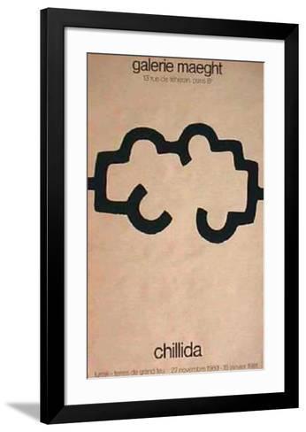 Terres de Grand Feu-Eduardo Chillida-Framed Art Print
