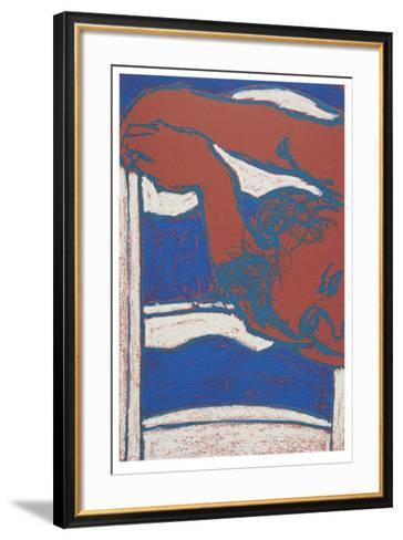 Sleeping Girl III-George Segal-Framed Art Print