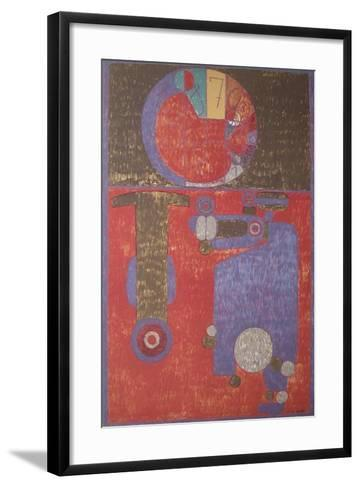 Imbecile Heureux-Pierre Courtin-Framed Art Print