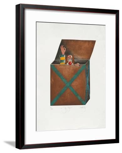 Joke-Box-Rainer Hercks-Framed Art Print