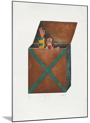 Joke-Box-Rainer Hercks-Mounted Limited Edition
