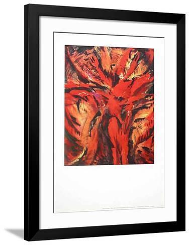 Aida Rot-Barbara Heinisch-Framed Art Print