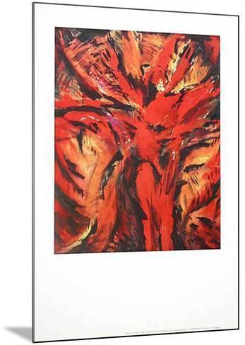 Aida Rot-Barbara Heinisch-Mounted Art Print