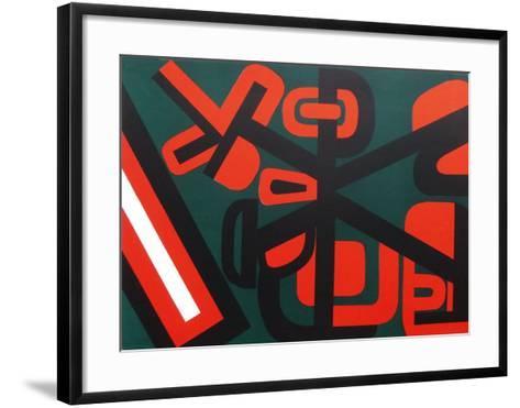 Longitude Est-Jean Dewasne-Framed Art Print