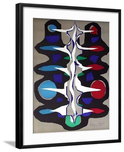 Composition Abstraite-Henri Etienne-Martin-Framed Art Print