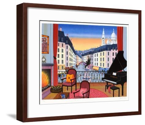 Interior Place St Georges-Fanch Ledan-Framed Art Print