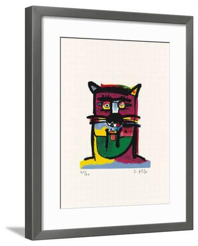 Tiger-Otmar Alt-Framed Art Print
