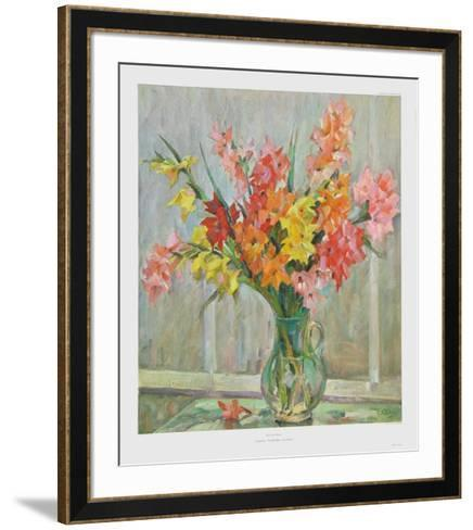 Gladioles-Richard Weiss-Framed Art Print