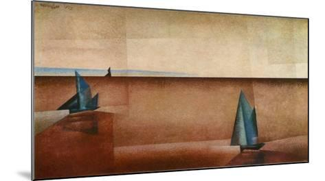 Translucence After the Rain-Lyonel Feininger-Mounted Art Print