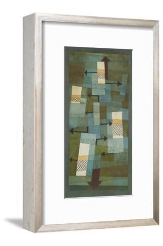 Shaky Balance-Paul Klee-Framed Art Print
