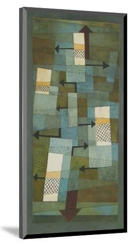Shaky Balance-Paul Klee-Mounted Art Print