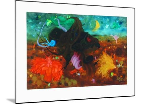 Among Birds-Erich Brauer-Mounted Collectable Print