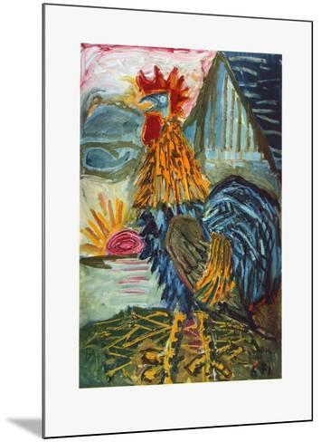 The Cock-Otto Dix-Mounted Collectable Print