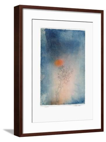 The Plant and Its Enemy-Paul Klee-Framed Art Print