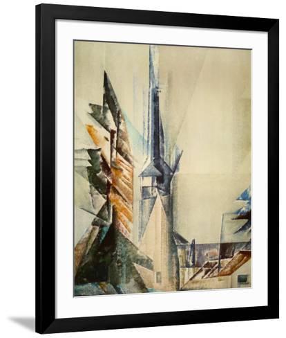 Gelmeroda-Lyonel Feininger-Framed Art Print