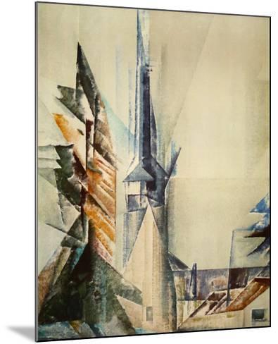 Gelmeroda-Lyonel Feininger-Mounted Collectable Print