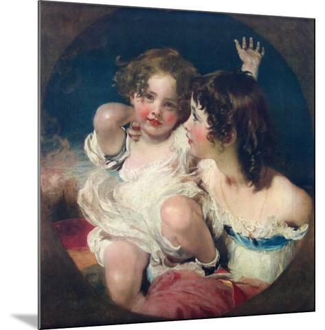 The Two Calmady-Children-Thomas Lawrence-Mounted Collectable Print