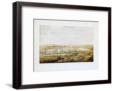 View of a City-Aelbert Cuyp-Framed Art Print