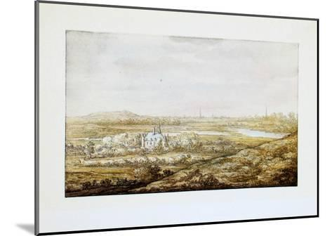 View of a City-Aelbert Cuyp-Mounted Collectable Print
