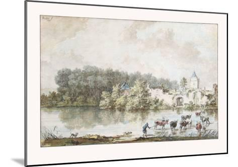 The Ford-Nicolaes Berchem-Mounted Collectable Print