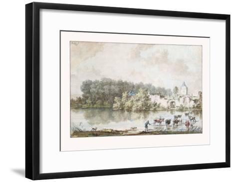 The Ford-Nicolaes Berchem-Framed Art Print