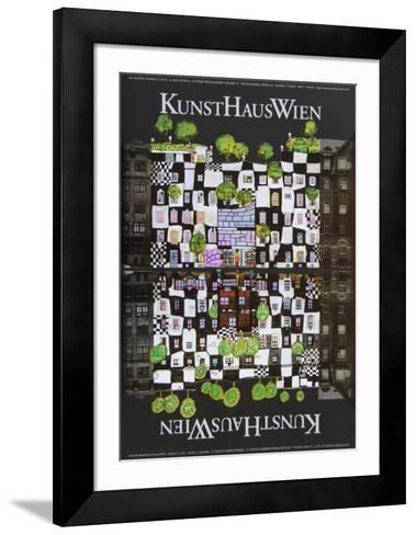 Kunsthaus Wien-Friedensreich Hundertwasser-Framed Art Print