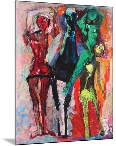 Horse and Jugglers-Marino Marini-Mounted Collectable Print