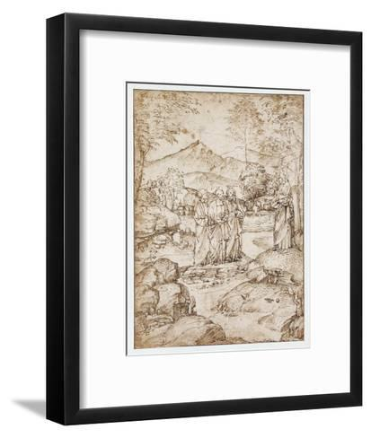 Valediction Christi-Marco Basaiti-Framed Art Print