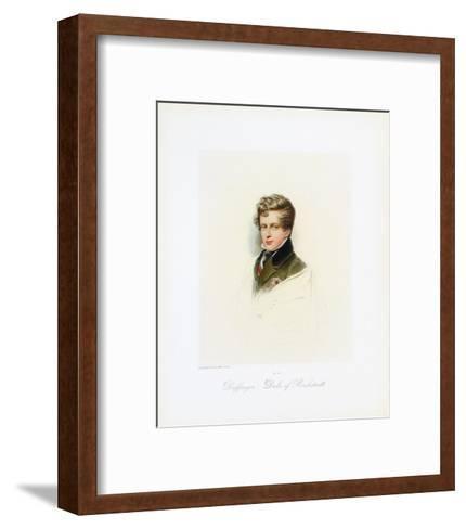 Duke of Reichstadt-Moritz Michael Daffinger-Framed Art Print