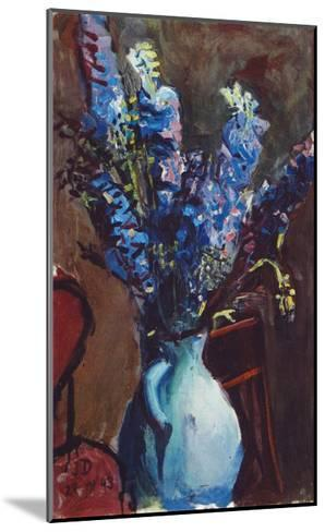 Larkspur-Josef Dobrowsky-Mounted Collectable Print