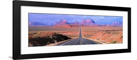 Monument Valley - Arizona-John Lawrence-Framed Art Print