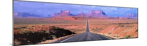 Monument Valley - Arizona-John Lawrence-Mounted Art Print