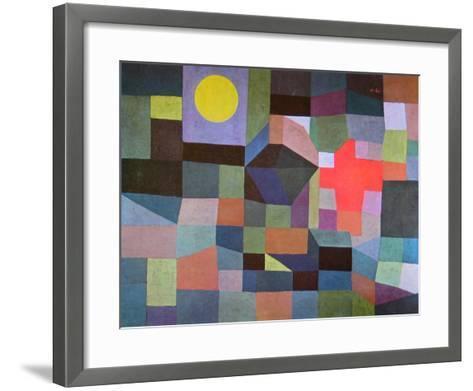 Fire at Full Moon, 1933-Paul Klee-Framed Art Print