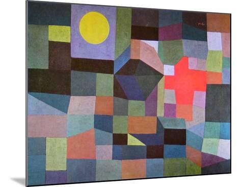 Fire at Full Moon, 1933-Paul Klee-Mounted Art Print
