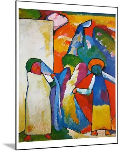 Improvisation No. 6-Wassily Kandinsky-Mounted Art Print