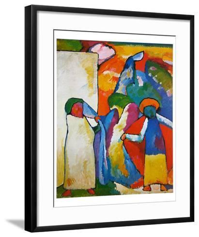 Improvisation No. 6-Wassily Kandinsky-Framed Art Print