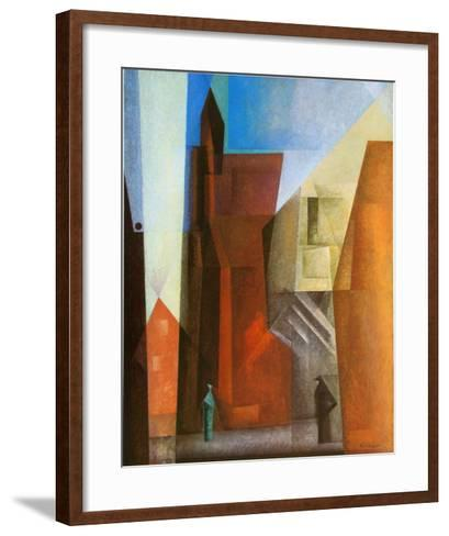 Arch Tower I-Lyonel Feininger-Framed Art Print