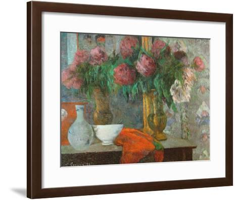 The White Dish, le Bol Blanc, 1886-Paul Gauguin-Framed Art Print