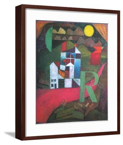 Villa R., 1919-Paul Klee-Framed Art Print