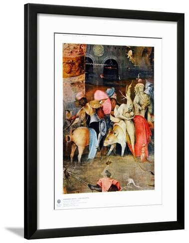 Group of Victims-Hieronymus Bosch-Framed Art Print