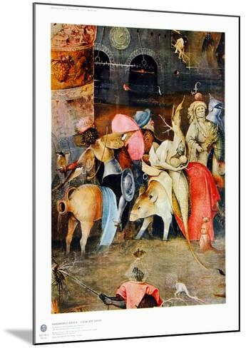 Group of Victims-Hieronymus Bosch-Mounted Collectable Print