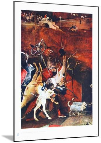 Group of Vendeful Spirits-Hieronymus Bosch-Mounted Collectable Print