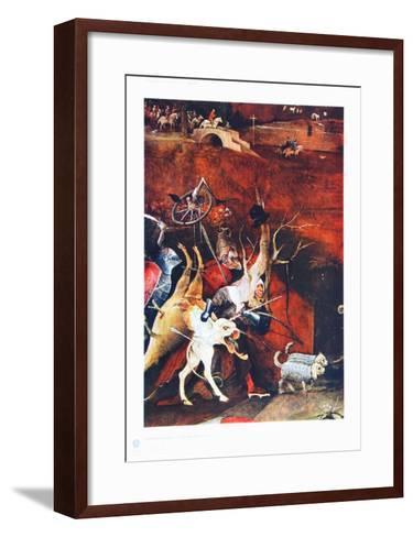 Group of Vendeful Spirits-Hieronymus Bosch-Framed Art Print