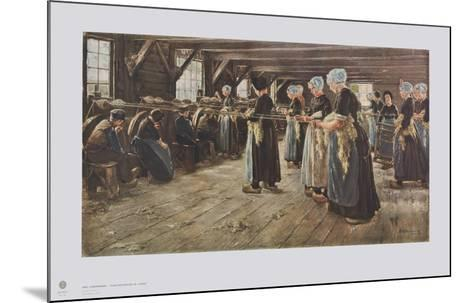 Flax Mill in Laren-Max Liebermann-Mounted Collectable Print