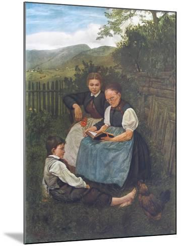 Summer Evening-Hans Thoma-Mounted Collectable Print