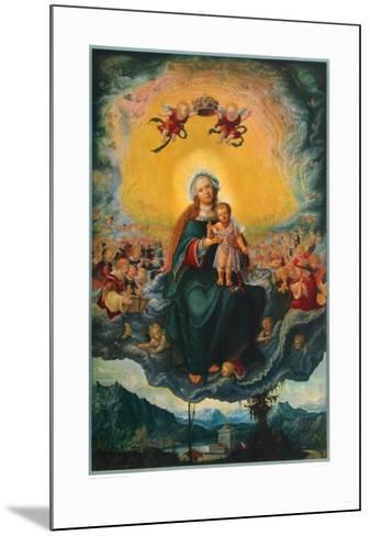 Virgin and Child in the Glory-Albrecht Altdorfer-Mounted Collectable Print