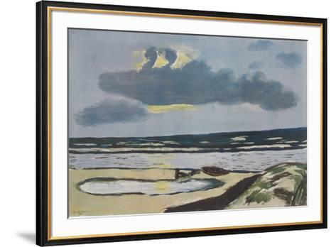 Seashore-Max Beckmann-Framed Art Print