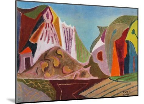 Landscape-Werner Gilles-Mounted Collectable Print