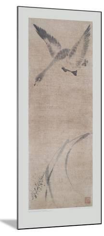 Wild Goose Pitching- Mu-Chi-Mounted Collectable Print