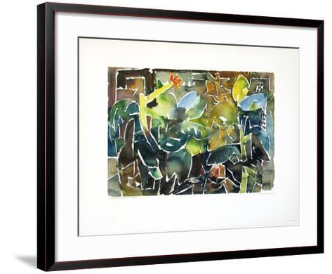 Autumn Garden-Eduard Bargheer-Framed Art Print